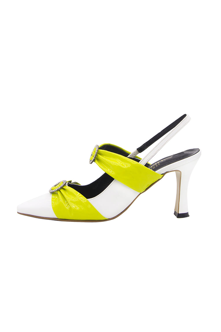 Dia Strap Mule Lime