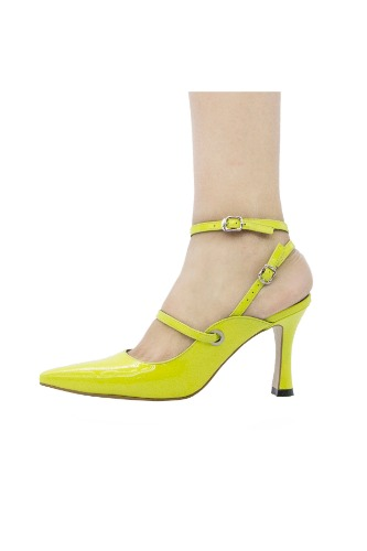 Louis Double Strap Lime